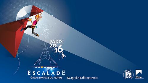 Championnat du monde Escalade Paris 2016